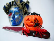 BLOODY HALLOWEEN DAY royalty free stock image