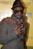 Will.I.Am on the red carpet. Stock Photos