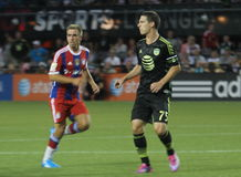 Will Johnson and Holger Badstuber Stock Photography