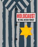 We Will Never Forget. Holocaust Remembrance Day. Yellow Star David.. We Will Never Forget. Holocaust Remembrance Day. Yellow Star David. International Day of Royalty Free Stock Images