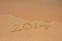 2014 will past Royalty Free Stock Image