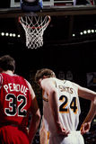 Will Perdue and Rik Smits Stock Photos