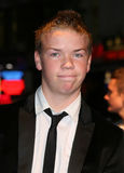 Will Poulter. Arriving at the film premiere of 'Wild Bill' at The Vue West End, London. 21/10/2011 Picture by: Alexandra Glen / Featureflash Royalty Free Stock Photography