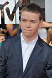 Will Poulter. LOS ANGELES, CA - APRIL 13, 2014: Will Poulter at the 2014 MTV Movie Awards at the Nokia Theatre LA Live Stock Image