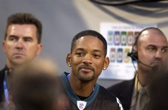 Will Smith. Actor / rapper Will Smith at Super Bowl 39 to watch his beloved Philadelphia Eagles in Jacksonville Fl. 2005 Stock Photography