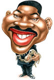 Will Smith caricature Stock Photo