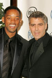 Will Smith, George Clooney Stock Photo