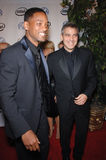 Will Smith,George Clooney Stock Images