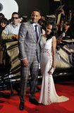 Will Smith and his wife Jada Pinkett Smith Royalty Free Stock Photography