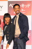 Will Smith and Jada Pinkett Smith in Karate Kid. Tokyo Press Conference for Japan Premiere of Karate Kid (Best Kid Stock Image