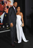 Will Smith & Jada Pinkett Smith Stock Images