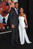 Will Smith & Jada Pinkett Smith Royalty Free Stock Images