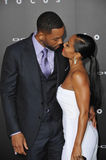 Will Smith & Jada Pinkett Smith Stock Image