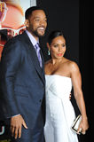 Will Smith & Jada Pinkett Smith Royalty Free Stock Image