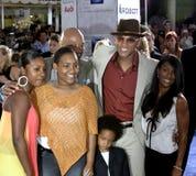 Will Smith, Jada Pinkett Smith och Jaden Smith Royaltyfri Foto