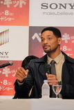 Will Smith in Karate Kid (Best Kid). Tokyo Press Conference for Japan Premiere of Karate Kid (Best Kid Stock Photos
