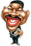 Will Smith-Karikatur lizenzfreie abbildung