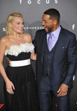 Will Smith & Margot Robbie Stock Photo