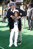 Will Smith och Jaden Smith Royaltyfria Bilder