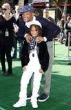 Will Smith och Jaden Smith Royaltyfria Foton