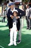 Will Smith och Jaden Smith Arkivfoto