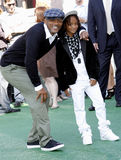 Will Smith och Jaden Smith Arkivfoto