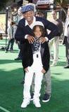 Will Smith och Jaden Smith Royaltyfri Fotografi