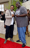 Will Smith och Quinton Aaron Royaltyfria Foton