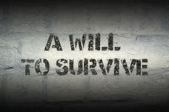 Free Will To Survive Gr Stock Photos - 86786673