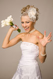 Will you catch a bouquet? Royalty Free Stock Photos