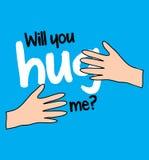 Will You Hug Me Royalty Free Stock Photo