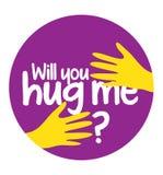 Will You Hug Me Royalty Free Stock Photos