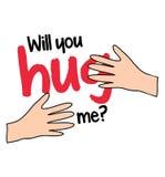 Will You Hug Me Stock Photo
