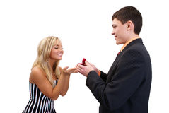 Will you marry me? Stock Image
