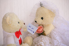 Will you marry me background, Wedding studio concept Royalty Free Stock Photography