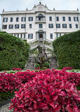 Willa Carlotta, Gubernialny Como, Włochy Obrazy Royalty Free