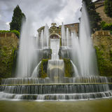 Willa d este w tivoli, Italy, Europe fotografia royalty free