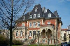 Willa Ferber, Gera miasteczko, Niemcy Zdjęcie Royalty Free