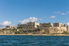 Willa Giovanni Bighi w Kalkara, Malta Obrazy Royalty Free