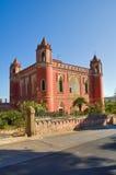 Willa Mellacqua. Santa Maria Di Leuca. Puglia. Włochy. obraz royalty free