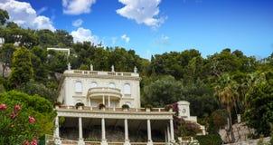 Willa na Tuscany zboczu Zdjęcie Royalty Free