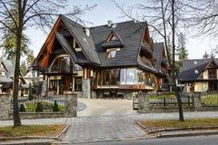 Willa Pod Skocznia Hotel dans Zakopane Image libre de droits