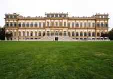 Willa Real, Monza, Włochy Willa Real 01/10/2017 Królewscy ogródy i park Monza Pałac, neoklasyczny budynek Obrazy Stock