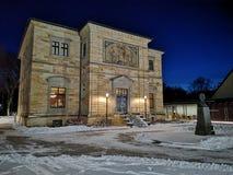 Willa Wahnfried Bayreuth 2019 - Richard Wagner muzeum zdjęcia royalty free
