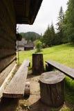 willage горы стоковая фотография rf