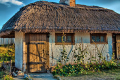 Willage. Old house in the willage, foto was taken in Zaporozie Stock Photo