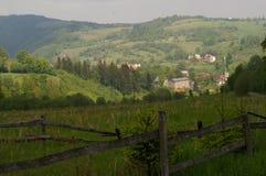 Willage Walim, горы сыча - ry Sowie ³ GÃ Стоковые Изображения