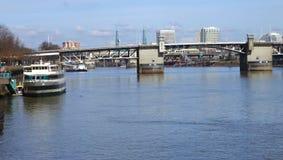 The Willamette river scene. Stock Images