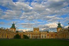 Willanow palace. Residence of Jan III Sobieski polish king. Warsaw, Poland, Europe Royalty Free Stock Photo
