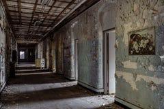 Willard Asylum för det sinnessjuka/statliga sjukhuset - Willard, New York Royaltyfri Fotografi